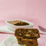 Whiskey banana bread with chocolate chips