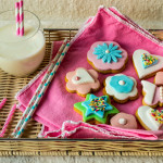 Sunday in colors – gingerbread cookies with fondant decoration
