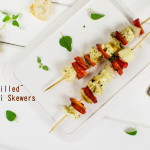 Grilled Haloumi Skewers