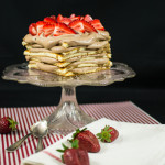 Chocolate mascarpone mousse cake