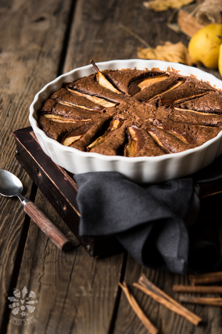 Chocolate clafoutus