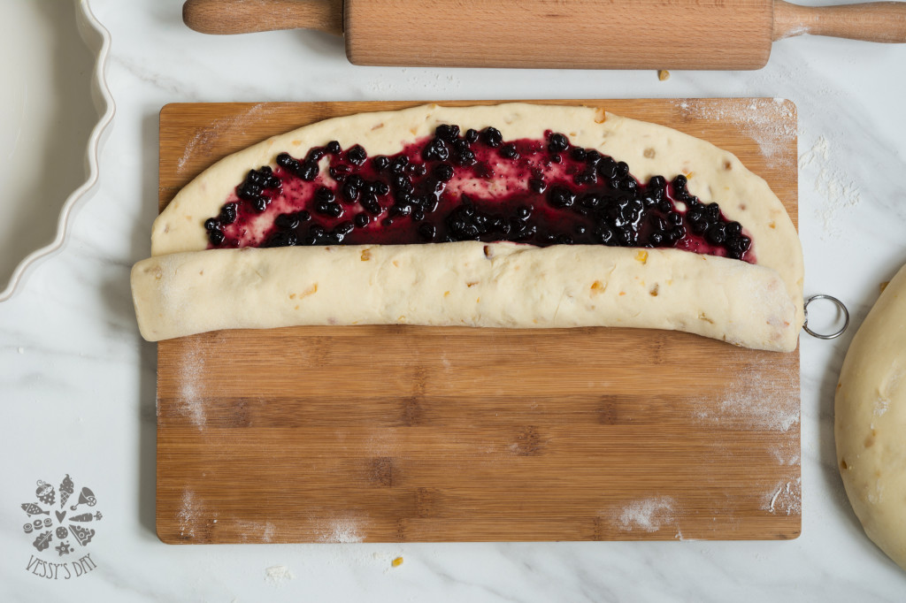 Blueberry Easter Bread