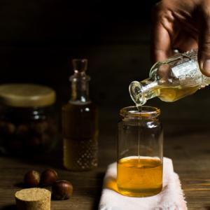 How to prepare homemade hazelnut syrup